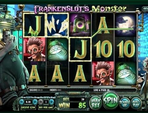 Выигрыш в автомате Frankenslots Monster